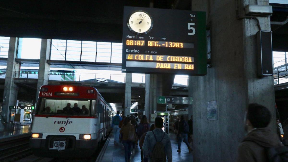 Villarrubia, Alcolea y El Higuerón están ya unidas por el tren de cercanías