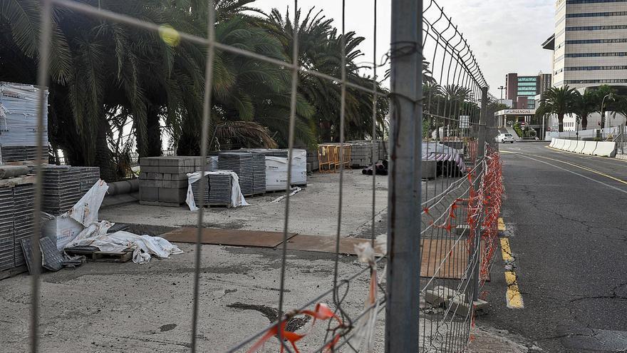 La ciudad intenta recuperar las dos últimas obras que Tecyr dejó colgadas
