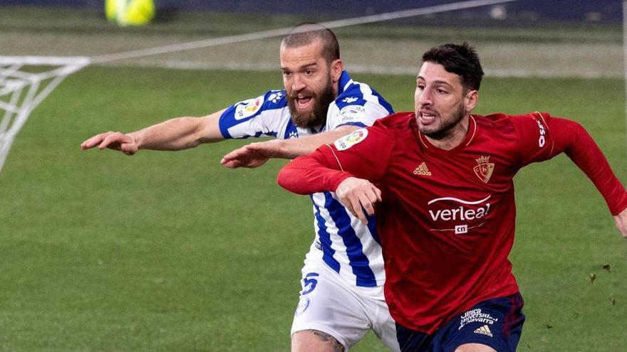 Osasuna y Alavés despiden el año con un empate insuficiente para ambos
