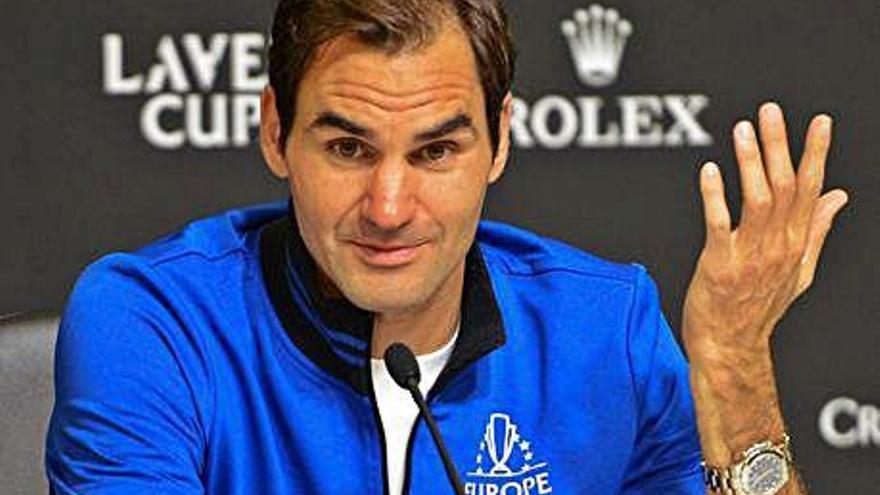 Roger Federer assegura que participarà als Jocs Olímpics de Tòquio