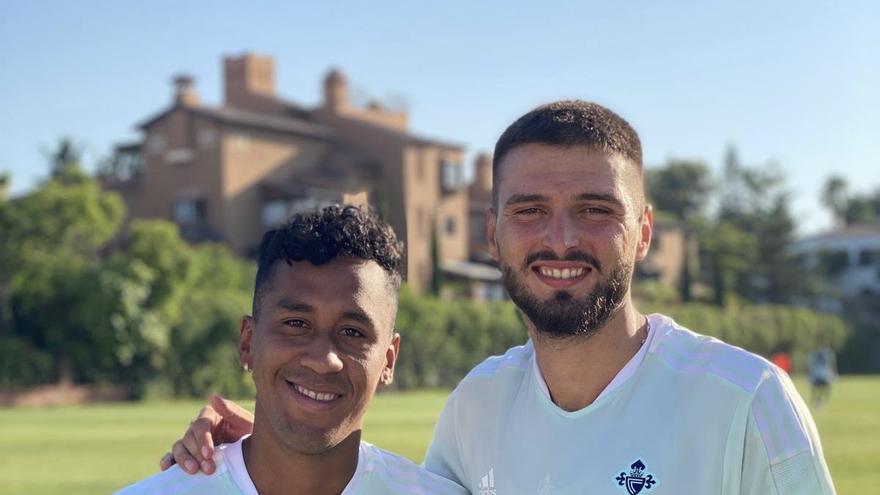 Okay y Tapia se reincorporan a los entrenamientos en Marbella