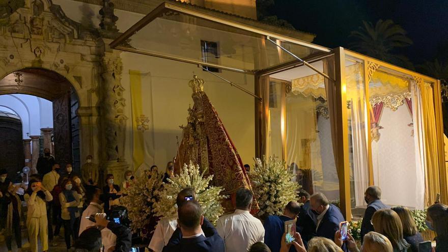 La Virgen de la Sierra de Cabra regresará a su santuario el domingo 10 de octubre