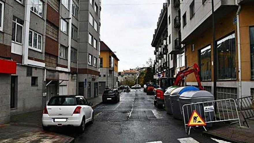 Cambre inicia la mejora de las calles Luis Seoane y Teresa Herrera de O Temple