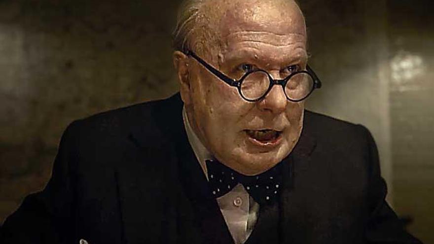 'El instante más oscuro': Retrato consistente de Churchill