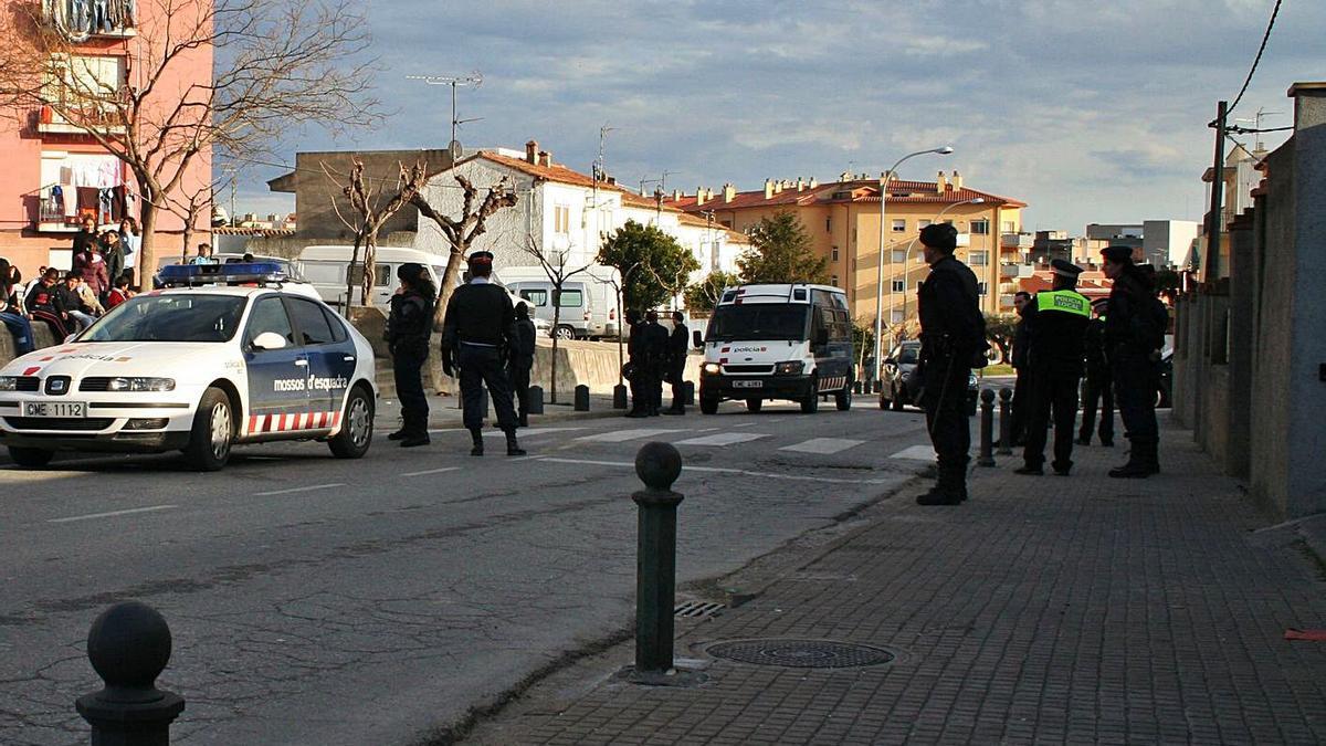 Un dels barris del sector oest on s'ha incrementat la pressió, en una imatge d'arxiu.    DIARI DE GIRONA