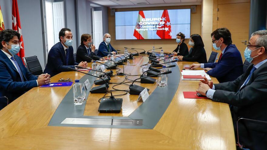 La reunión de Sanidad y Madrid concluye sin acuerdo