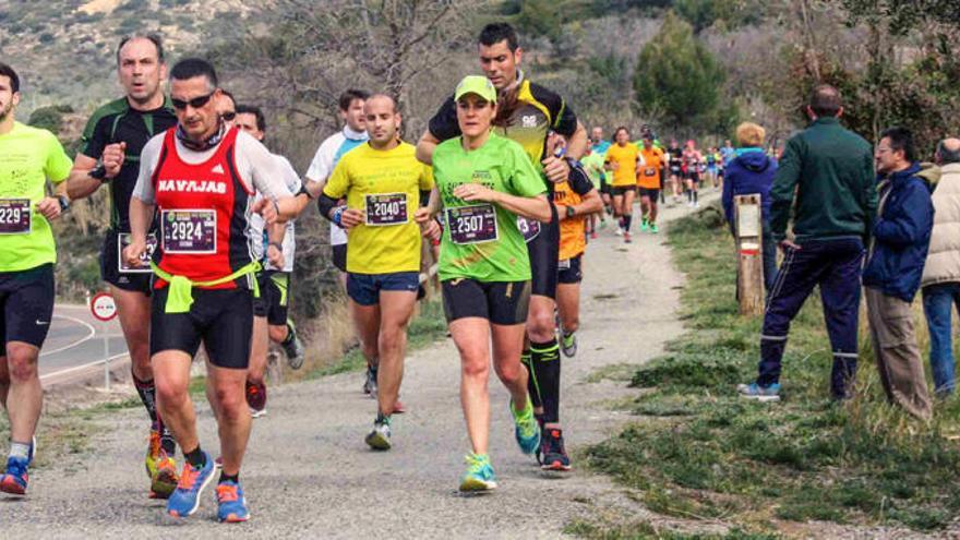 Un maratón, medio maratón y 10K en la Vía Verde Ojos Negros