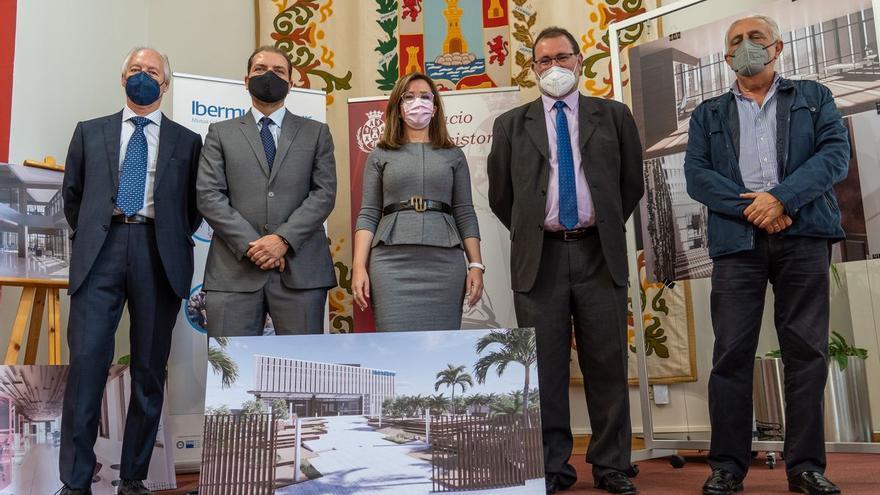 Ibermutuamur levanta en Santa Lucía un edificio de dos plantas donde atenderán a 43.000 personas