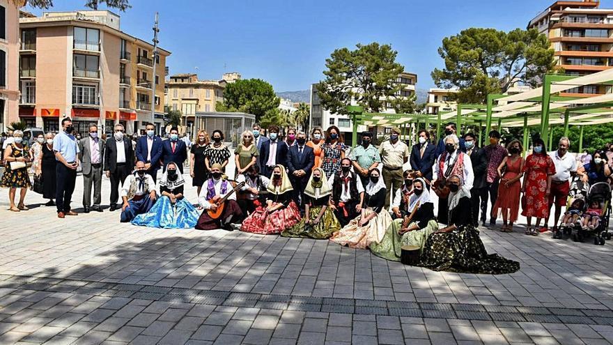 Inca abre al público la renovada Plaça Mallorca en el día grande de sus patrones
