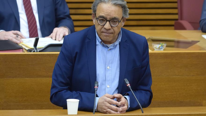 El PSPV lleva a las Cortes sus críticas contra Mazón por las mociones con tránsfugas