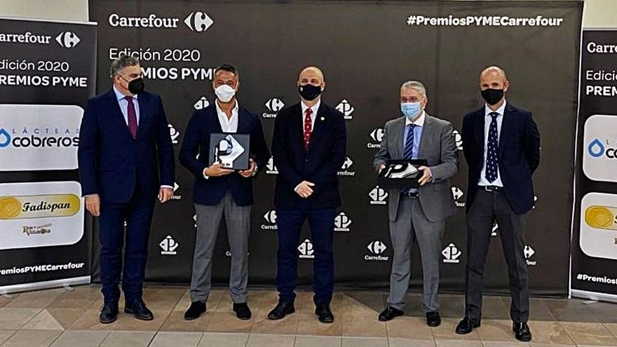 Lácteas Cobreros de Zamora se alza con el Premio Transición Alimentaria de Castilla y León 2020