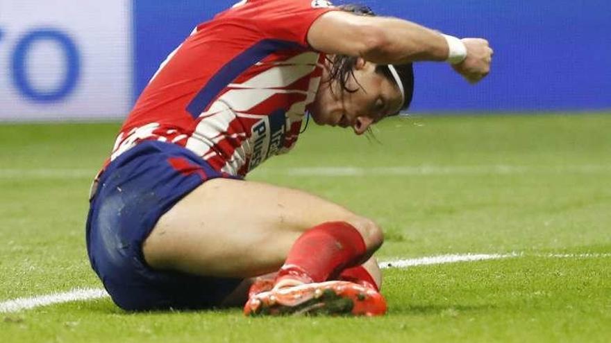 Filipe es duda para A Coruña por una elongación en la pierna izquierda