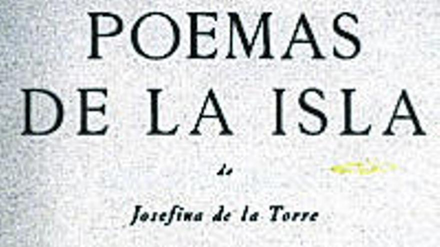 Josefina de la Torre, nuestra contemporánea