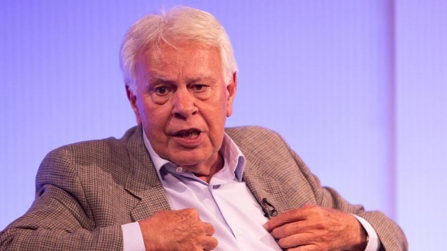 "Felipe González no pactaría con ERC ni EH Bildu: ""No son interlocutores válidos"""