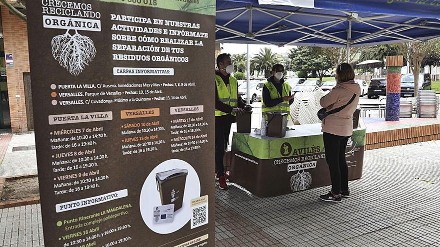 Lanzan un concurso con premios en metálico para impulsar el uso del contenedor marrón