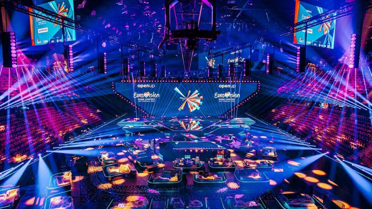 Plató de Eurovisión.