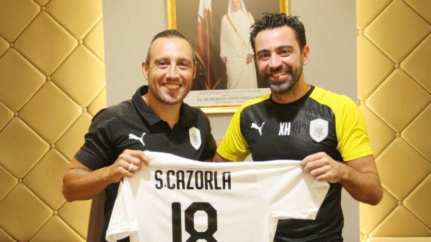 Así ha sido el estreno de Cazorla en la Liga de Qatar: doblete con dos golazos