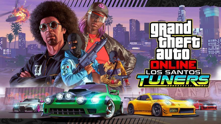 GTA Online estrena Los Santos Tuners, una brutal actualización centrada en la cultura tuning