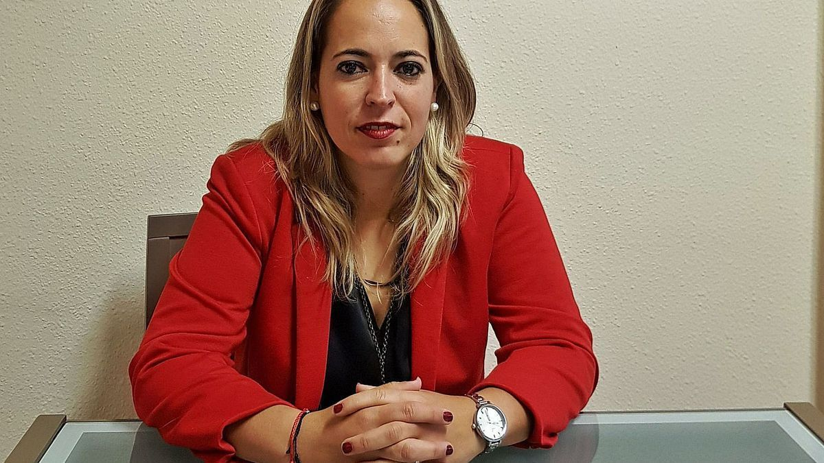 The Minister of Health of La Palma, Susana Machín.
