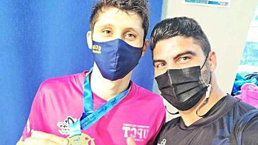 Alejandro Puebla, campeón de España absoluto joven
