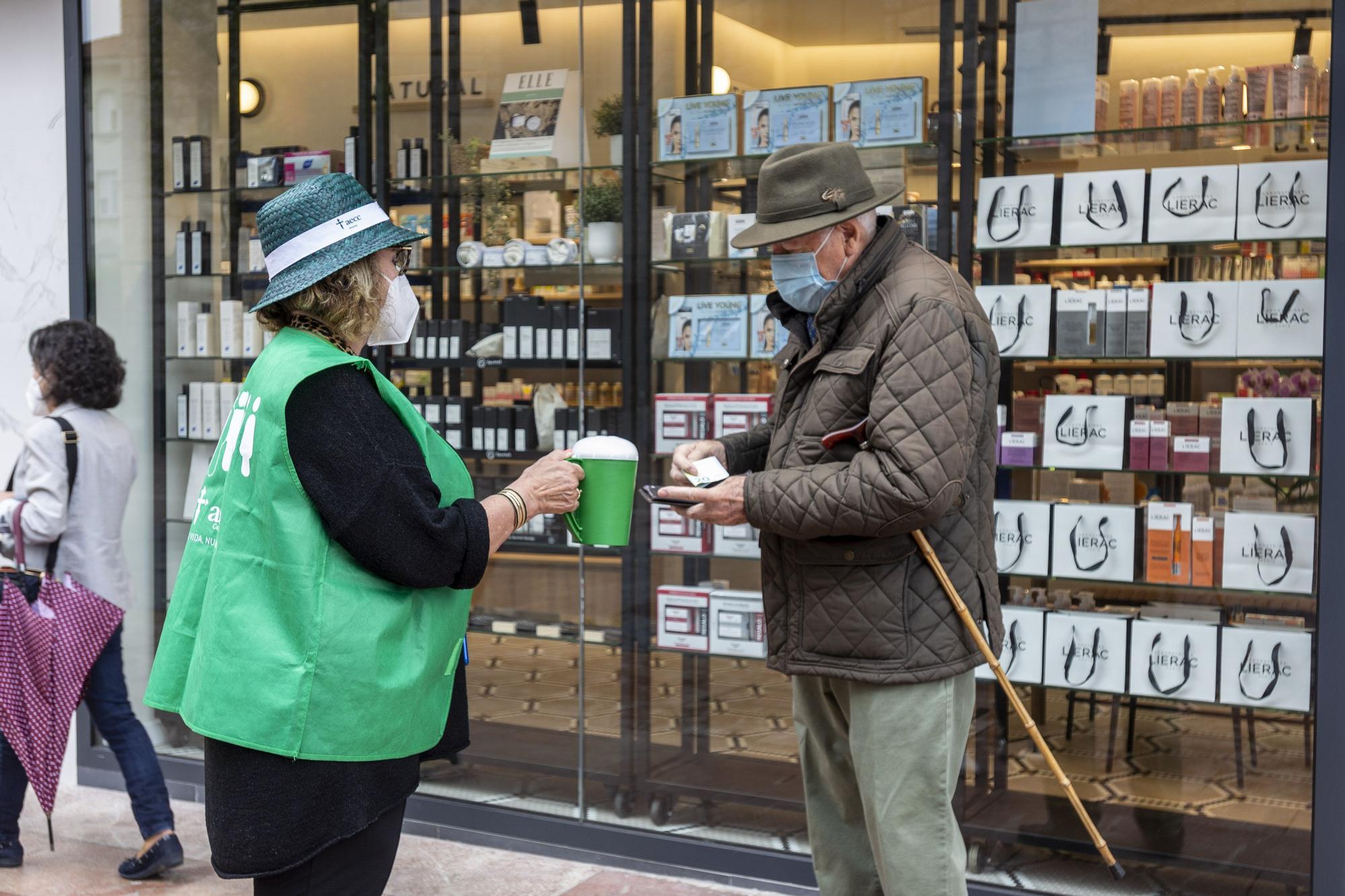 La lucha contra el cáncer en las calles de Oviedo