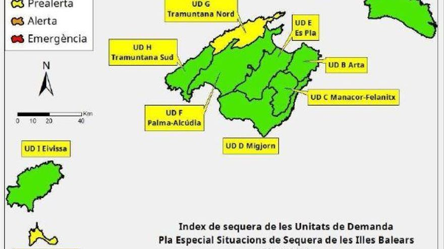Leichter Rückgang der Wasserreserven auf Mallorca