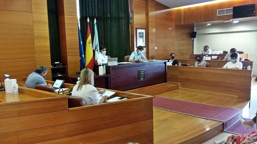 "Calvelo advierte de que ""no hay un trazado bueno"" para el tendido eléctrico de Monteagudo a Morás"