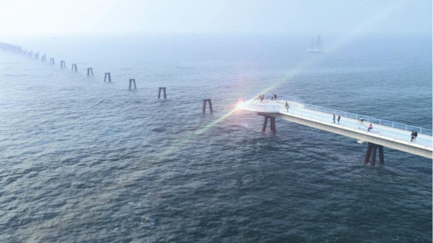 Iniciativa Porteña lanza una propuesta para rehabilitar el Pantalán y conectarlo con el paseo marítimo