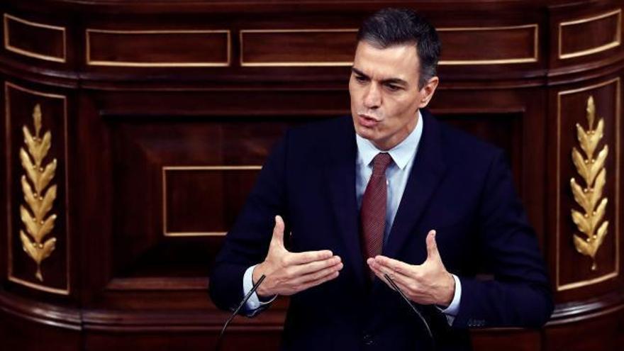 """Pedro Sánchez cuestiona a Abascal: """"¿Qué es lo que hacemos aquí?"""""""