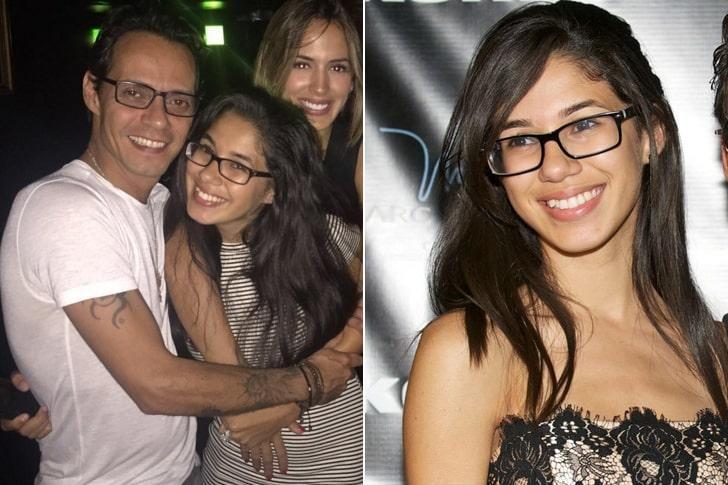 Una de las hijas de Marc Anthony. El cantante suma seis hasta la fecha.