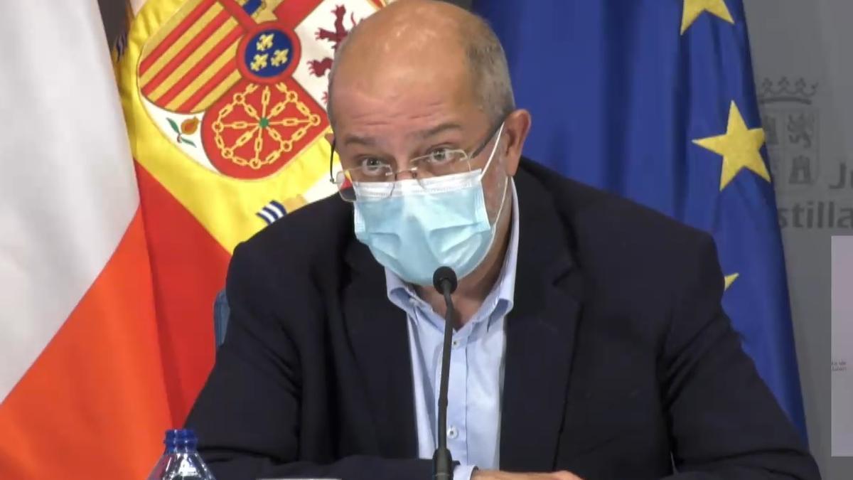 Francisco Igea, en su comparecencia tras el Consejo de Gobierno