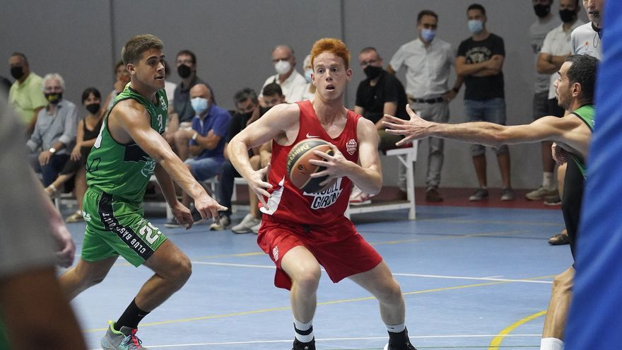El Bàsquet Girona B supera el Quart en un duel igualat