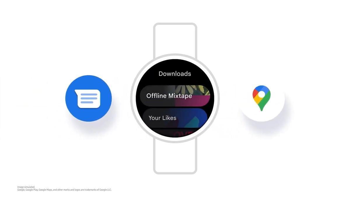 Una imagen del One UI Watch.