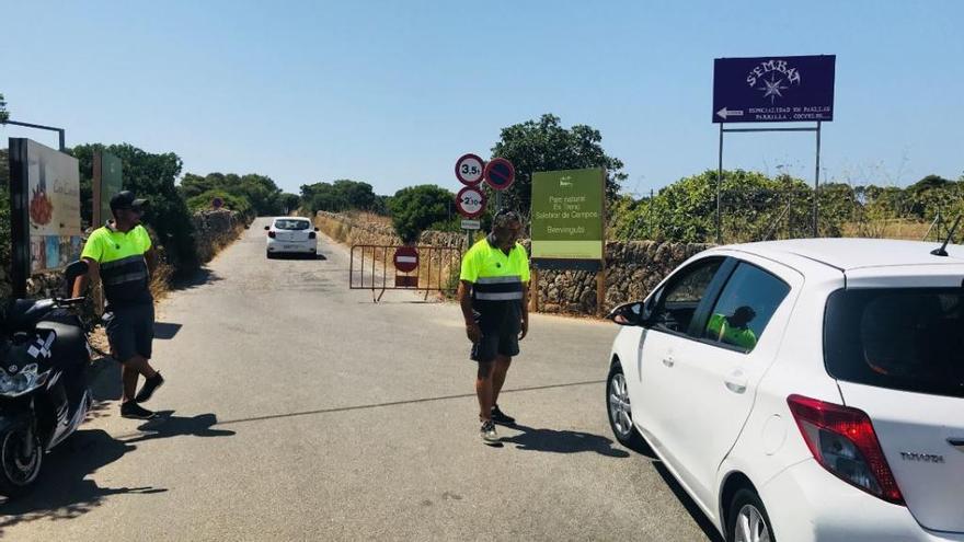 Landesregierung genehmigt neuen Parkplatz am Es Trenc