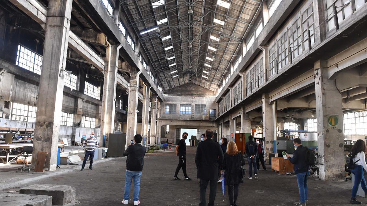 Instalaciones de la antigua fábrica de armas, donde se emplazará la Ciudad de las TIC.