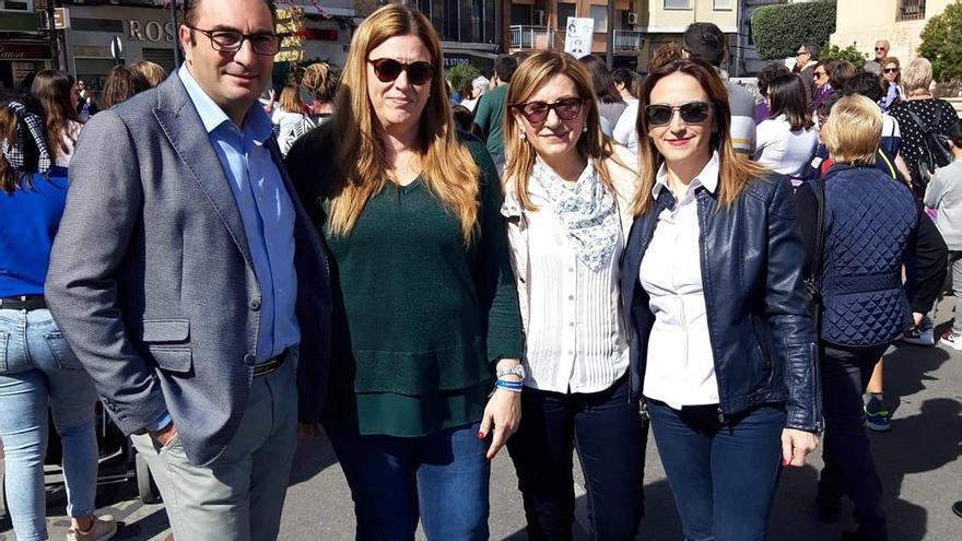 Representantes del PP de Paterna el 8M