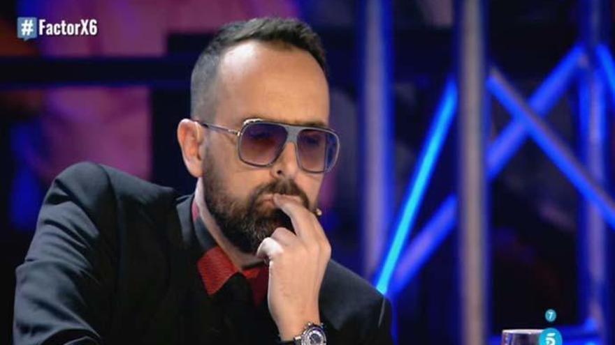 'Factor X': Nueva tensión entre Risto Mejide y un concursante