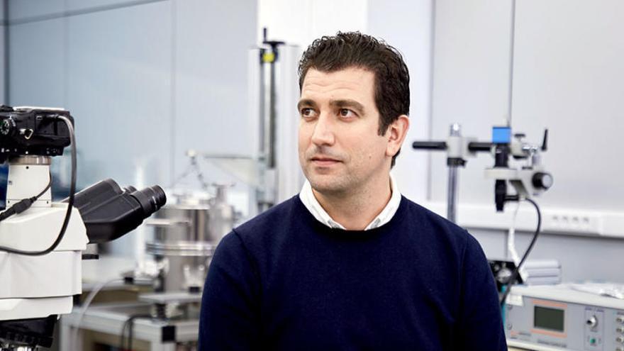 Gonzalo Abellán logra el premio Jóvenes Investigadores de la Real Sociedad de Química