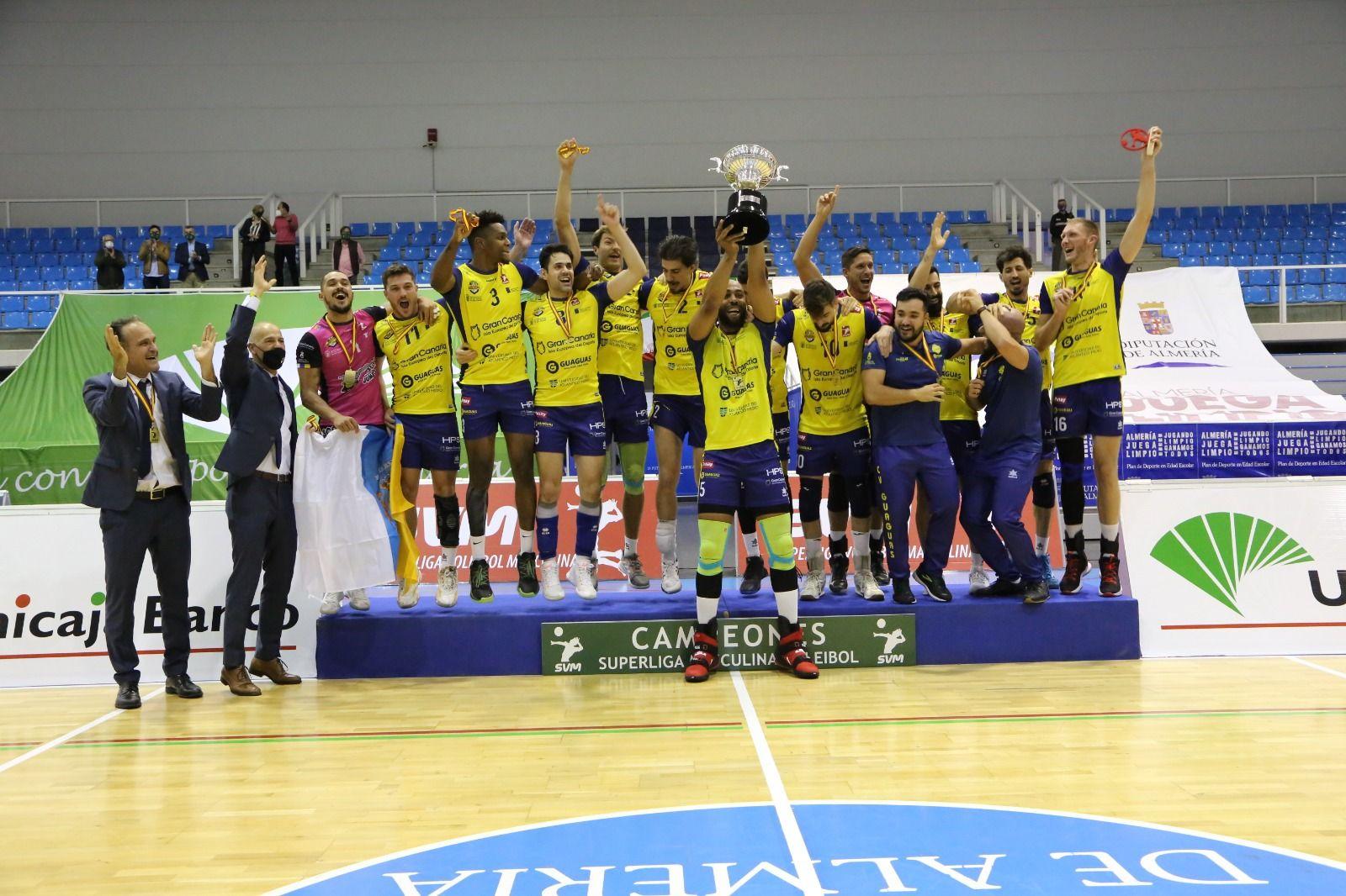 El Guaguas se proclama campeón de la Superliga
