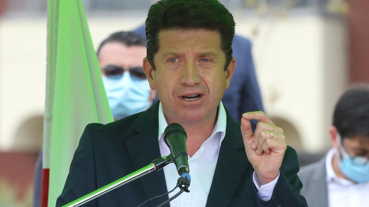 El ministro de Defensa de Colombia, Diego Molano, en una fotografía de archivo.
