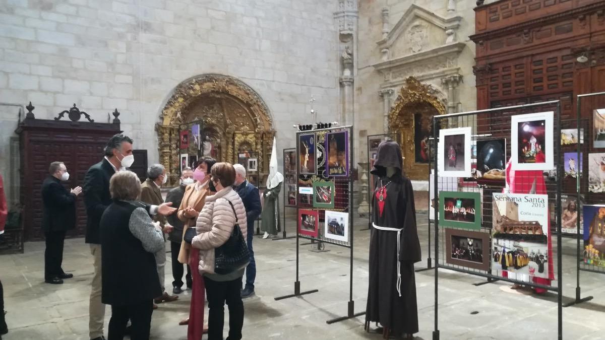 La Semana Santa de Coria incluye una exposición y procesiones online, entre otros actos