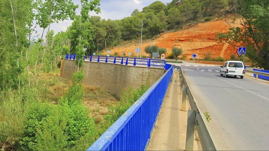 Pedralba solicita a la ampliación del puente que atraviesa el Río Turia