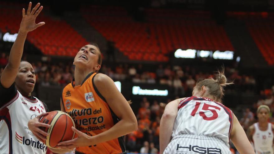 El Valencia Basket renueva a Tamara Abalde