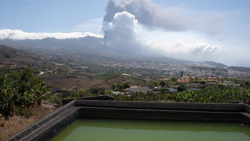La calidad del aire en La Palma, en tiempo real