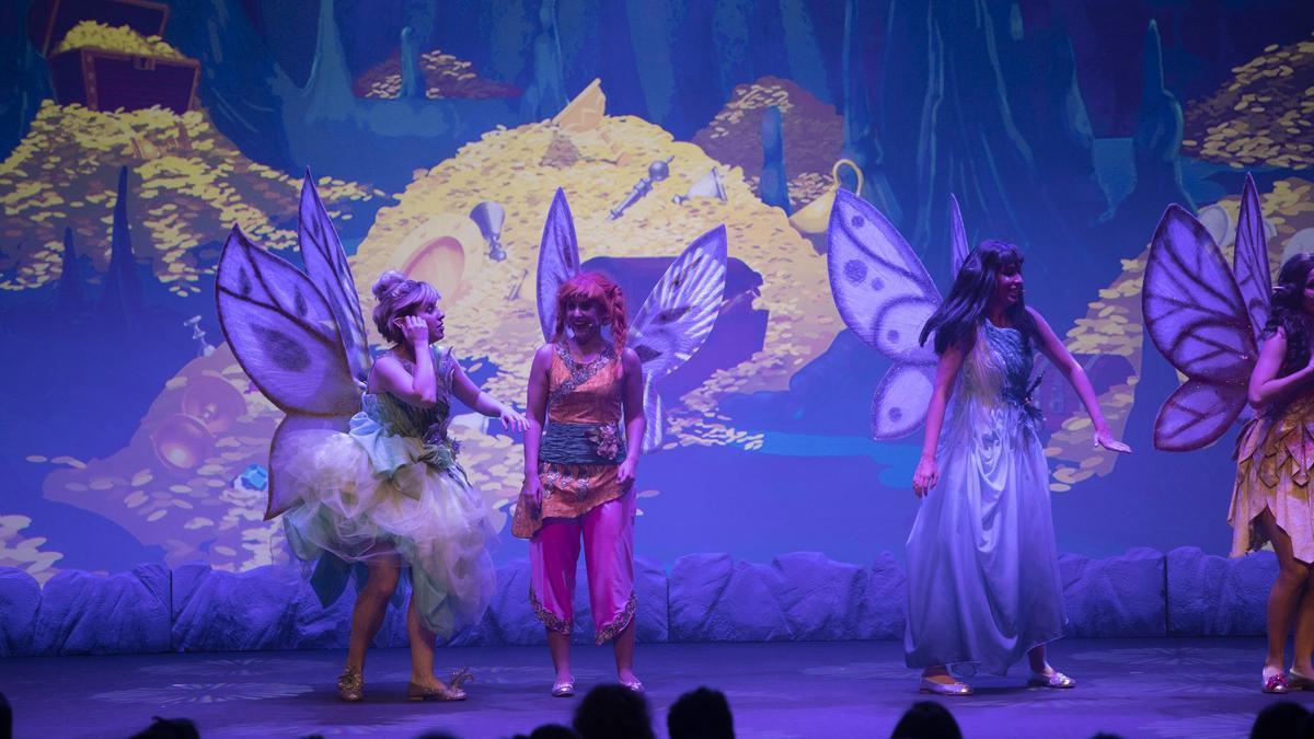 Uno de los espectáculos de teatro en el Ramos