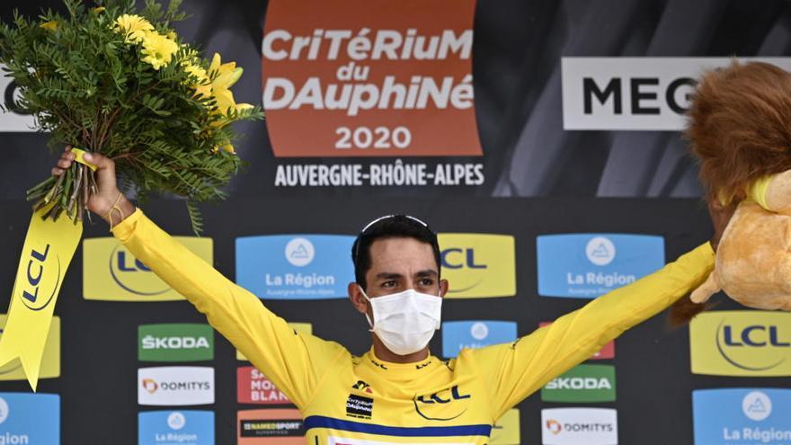 """El colombiano Daniel Martínez conquista una """"loca"""" Dauphiné"""