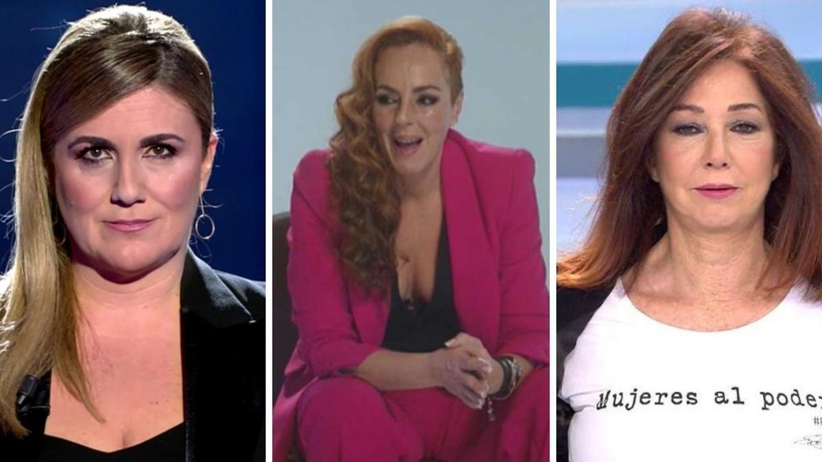 La docu-serie de Telecinco sobre Rocío Carrasco abre guerras dialécticas colaterales entre los rostros de la cadena.
