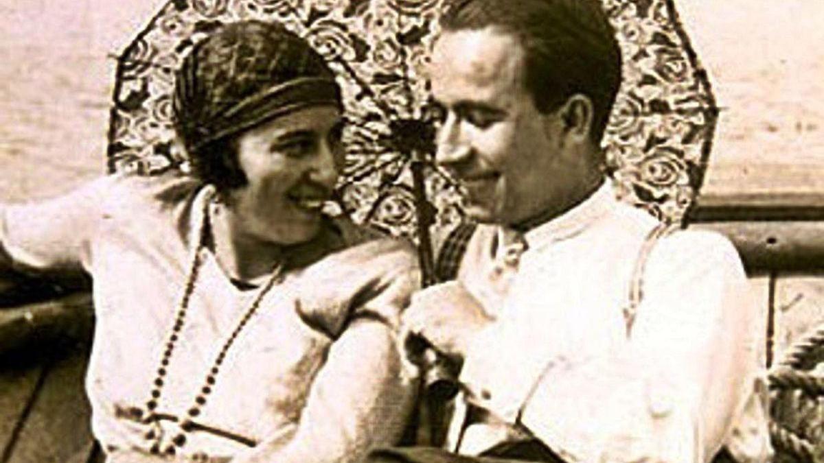 Amalia Álvarez e Alexandre Bóveda.