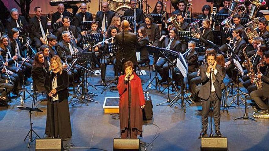 El concierto anoche en el Teatro Ramos Carrión.