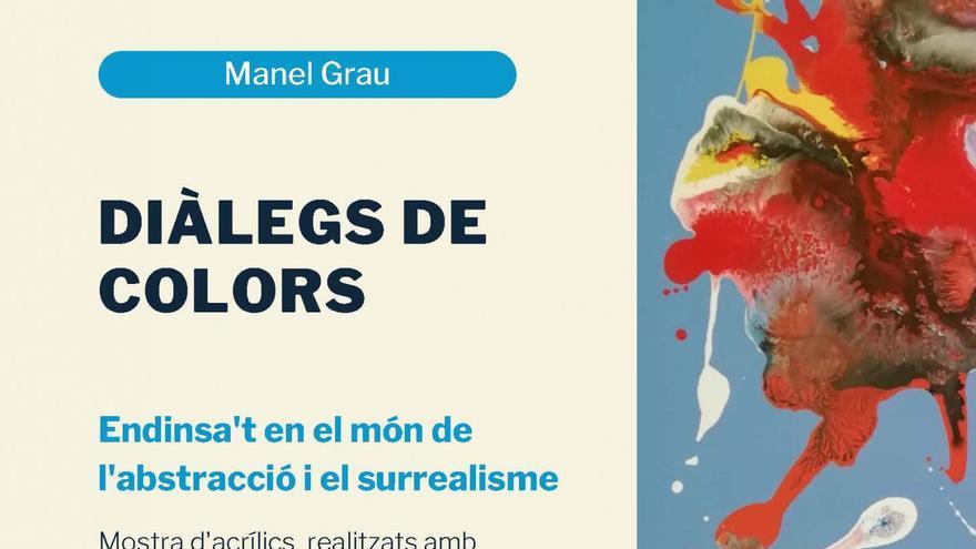 """Exposició """"Dialegs de colors"""""""